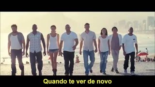 Wiz Khalifa   See You Again ft Charlie Puth (LEGENDA EM PORTUGUÊS)
