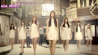 AOA - Elvis [Dance Ver.] MV [Sub Español+Romanización+Karoaoke]
