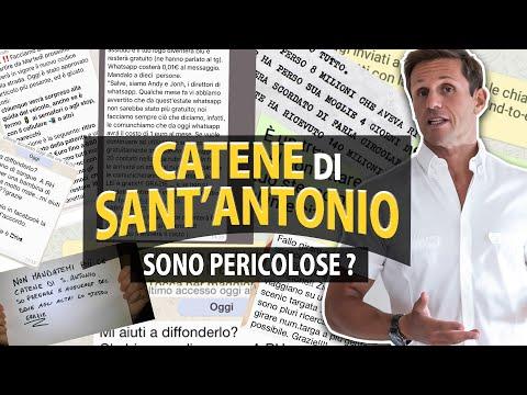 CATENE DI SANT'ANTONIO: sono davvero pericolose? | avv. Angelo Greco