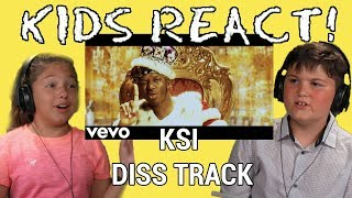 KIDS REACT TO KSI - Ares (Quadeca Diss Track) Official Video