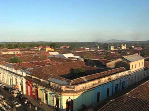 Granada, Nicaragua, from a church tower