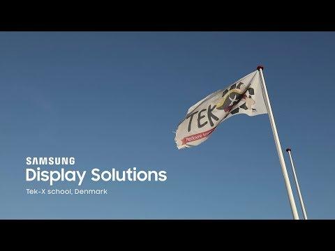 Samsung Flip – Bringer innovation til klasseværelset med interaktive digitale displays