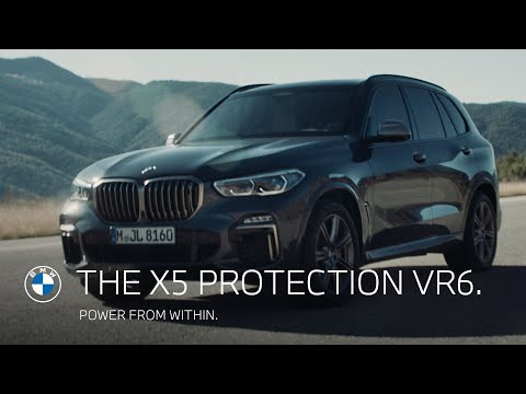 Power from within. The BMW X5 Protection VR6.
