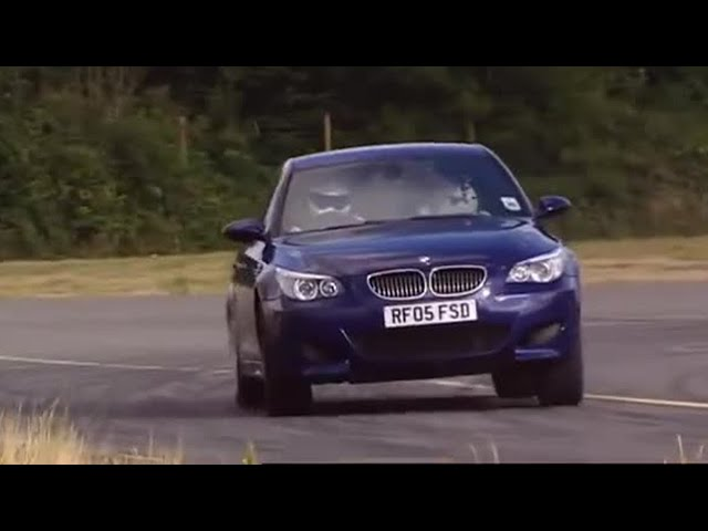 BMW M5 Road Test Part 2 - Top Gear - BBC