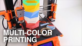 Multi-Color 3D Printing