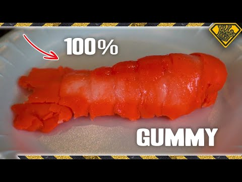 The Reveal: Silicone Lobster Tail Mold & 100% Gummy Castings