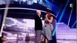 Puisque vous partez en voyage - Charles Aznavour & Nolwenn Leroy - Hier encore - France 2