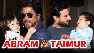 Who Is MOST CUTEST - Shahrukh's AbRam Or Saif's Taimur