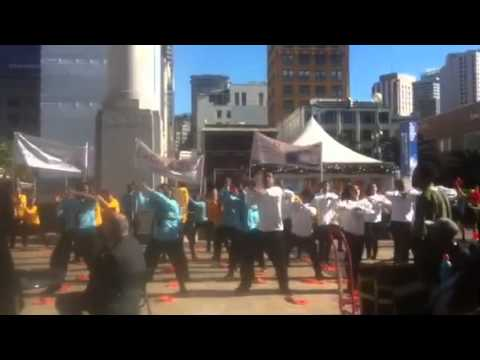 par8o flash mob at JP Morgan 2015 (Part 2)