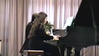 """Tchaikovsky Chinese Dance from """"Nutcracker"""" (piano 4 hands)"""