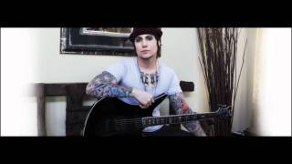 Synyster Gates New Schecter Guitar & Danger Line Unfinished Guitar Cover