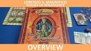 Lorenzo il Magnifico: Houses of Renaissance - Overview