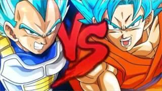 #24 ZUERA Goku VS. Vegeta 2 | Duelo de Titãs
