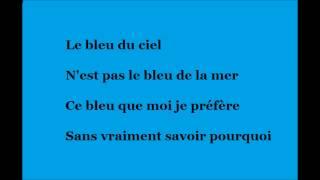 Vaiana - Le bleu lumière ( Paroles )
