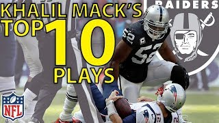 Khalil Mack's Top 10 Highlights from the 2017 Season | NFL