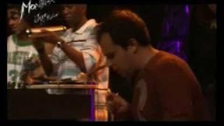 Pablo Lapidusas with Marcelo D2 - Montreux jazz festival 2006