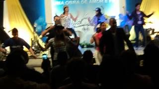 Grupo de dança da igreja Vida Nova