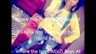 Where The Boys At - Omg Girls LYRICS