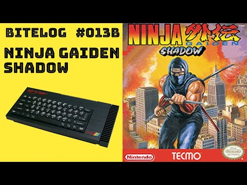 BITeLog 013B.2: Ninja Gaiden Shadow Warriors (ZX SPECTRUM) LONGPLAY
