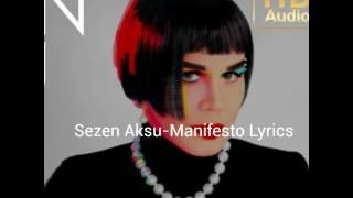 Sezen Aksu-Manifesto Lyrics