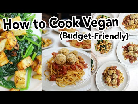 How to Cook Vegan Dinner For 4 People Under $20 // Vegan Dinner Party Under $20