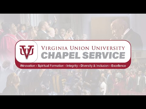 Virginia Union University Chapel Service | October 1, 2020