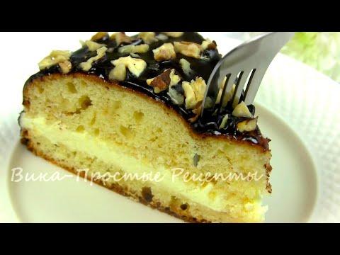 Торт»Волшебный»/Простой домашний торт к чаю