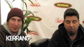 Kerrang! Podcast: Deftones at Reading 2009