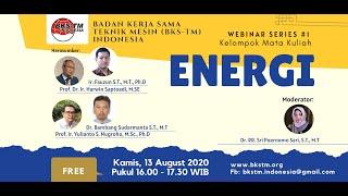 Sosialisasi Bahan Ajar Kurikulum BKS-TM 2020 Kelompok Mata Kuliah: ENERGI