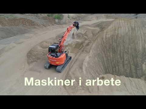 Filmen om Delvator AB - svensk generalagent för Hitachis Entreprenadmaskiner
