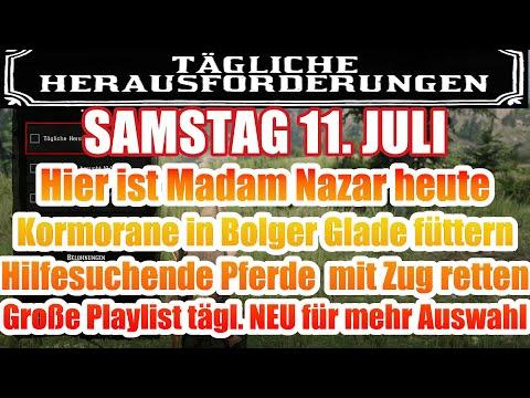 Samstag 11. Juli Täglichen Herausforderung Dailys Nazar Red Dead Redemption 2 Online