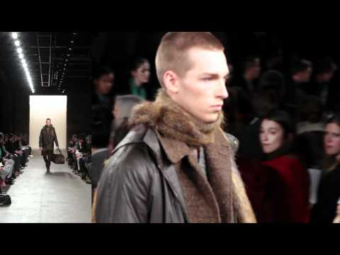 BILLY REID Fall 2012 Runway Show