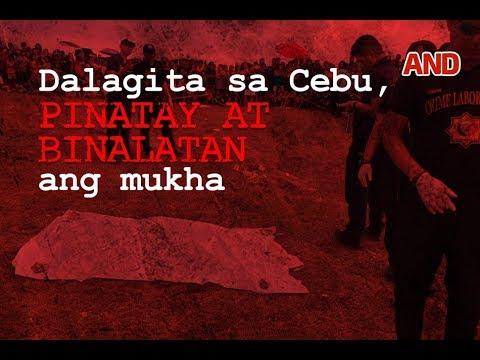Dalagita sa Cebu, pinatay at binalatan ang mukha