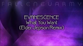 * Evanescence - What You Want (Elder Jepson Remix)