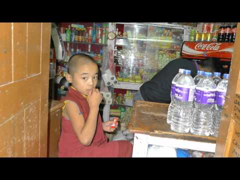 Little Monk Monkey Temple Kathmandu Nepal