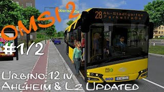 OMSI 2 Preview Ahlheim Laurenzbach Updated | Linie 28 → Parkstr. (1/2) ☆ Let's Play OMSI 2