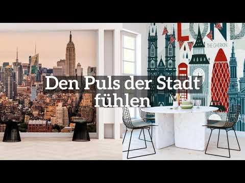 Fototapeten mit Stadtmotiv von Photowall