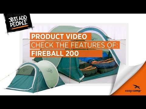 Fireball 200 Pop Up Tent (2018) | Just Add People