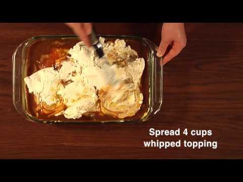 Vanilla Caramel Egg Nog Cake