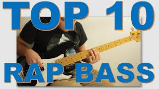 Top 10 Hip Hop Rap Bass Lines x Bass Guitar x Oefi