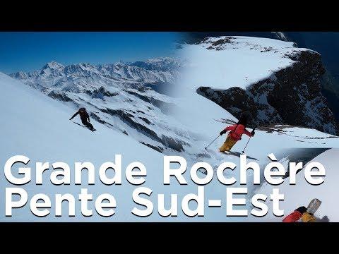 La Grande Rochère Pente Sud-Est Planaval Vallée d'Aoste ski snowboard splitboard de randonnée