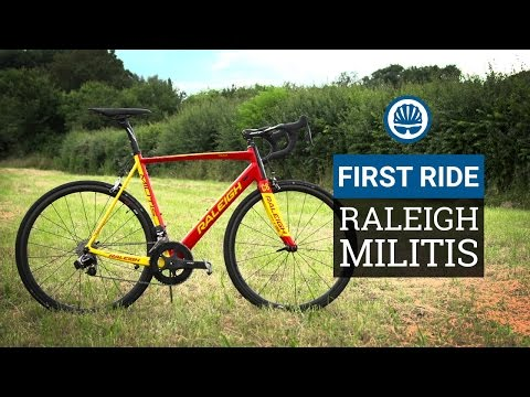 Raleigh Militis eTap Limited Edition - First Ride