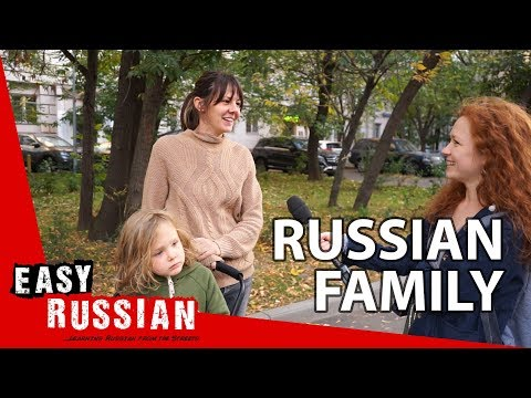 Russian family and marriage | Easy Russian 53 photo