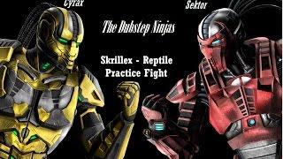 Mortal Kombat - Komplete Edition (Cyrax vs Sektor) w/ Skrillex - Reptile