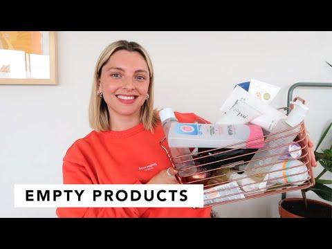 EMPTY BEAUTY PRODUCTS | Estée Lalonde