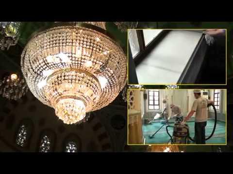 TR - IŞILTI TEMIZLIK - cami temizliği - halıflex - avize - kubbe - mermer - cini temizliği