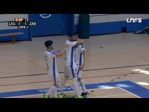 CD Leganés - Full Energía Zaragoza Jornada 4 Grupo D Segunda División Temp 20 21