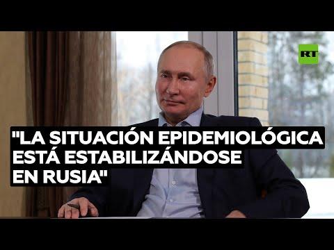 Putin: «La situación epidemiológica en Rusia se está estabilizando»