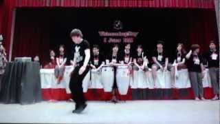 Pitbull - International Love ft. Chris Brown - Freestyle Dance By Poppin Ron