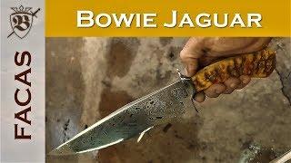 Faca Bowie Jaguar | Cutelaria Berardo Facas Custom